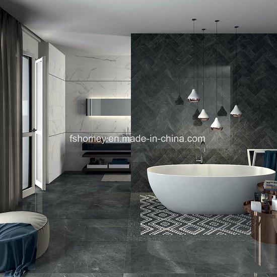 De piedra pulida, suelos de aspecto brillante mosaico para salón y cuarto  de baño