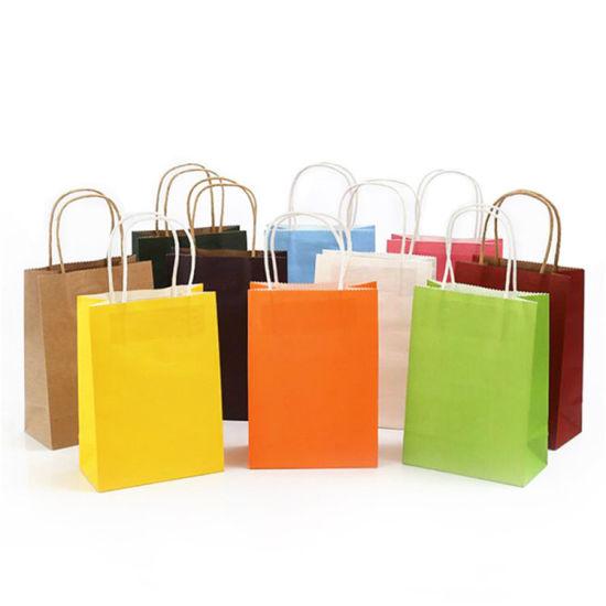 entrega gratis grandes variedades 100% de alta calidad Gelbert de impresión personalizadas baratas compras reutilizable bolsa de  papel de embalaje de regalo