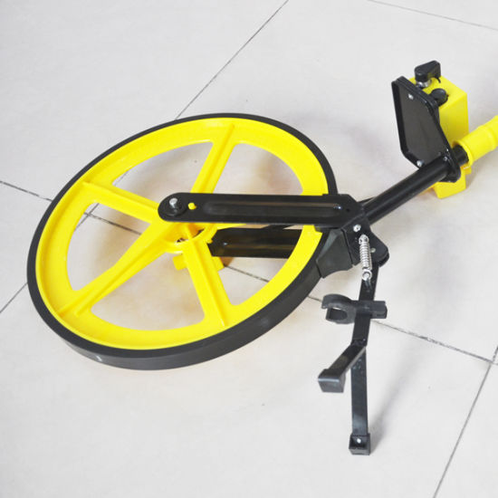 roue de mesure pliable roue de mesure distance num/érique pour ouvriers b/âtiments diam/ètre roue 32 cm Roue de mesure de distance
