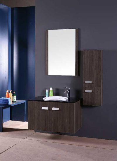 Le contreplaqué moderne salle de bains Design/armoires de miroir de salle  de bains/Meubles de salle de bains de luxe (T5001)