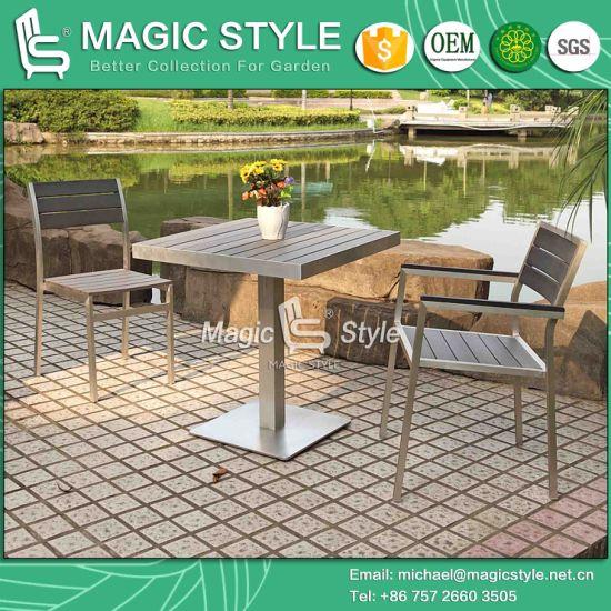 Chine Ensemble de salle à manger en plein air en aluminium ...