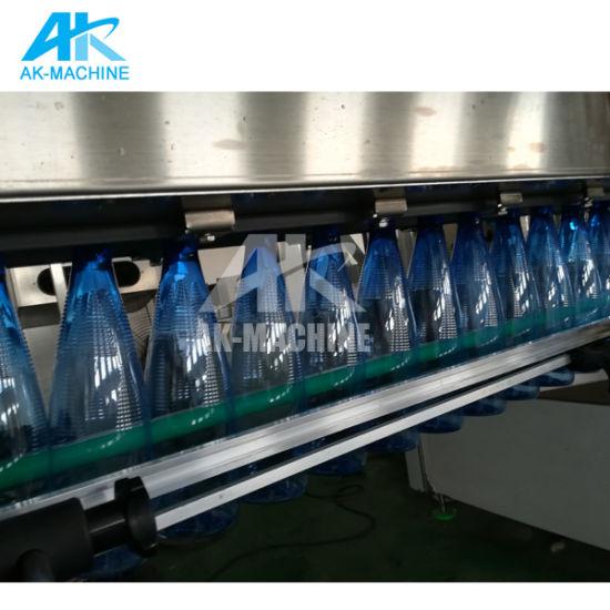 Конвейер по розливу бутылок верхний транспортер шагающая лапка 5 мм