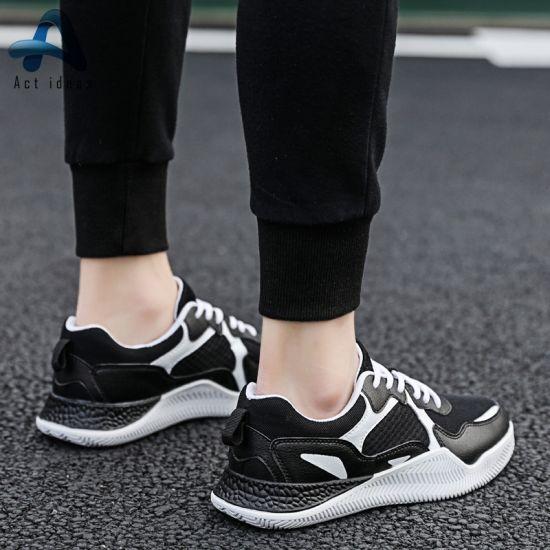 China Cuero de Moda 2019 Zapatos hombre zapatillas