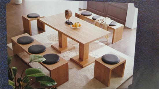 Chine Les Sushis Japonais Les Restaurant Table Et Banc En Bois