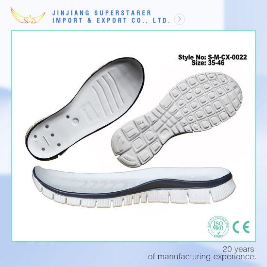 Chine MD EVA Hommes semelles de chaussures de sport pour la