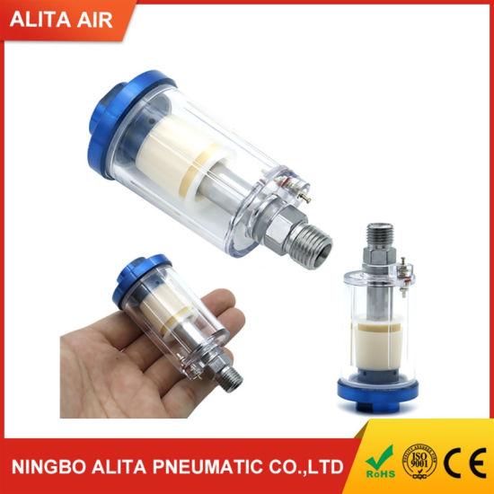 Eau Huile Air Séparateur Filtre Séparateur Trap 1//4/'/' Compresseur Spray Outil