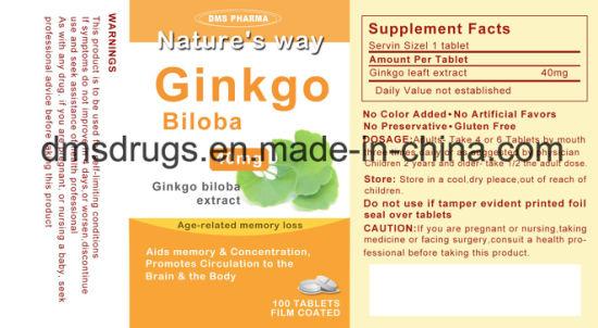 Acheter Ginkgo Biloba - Travailler sa concentration et sa mémoire, ça s'apprend ...