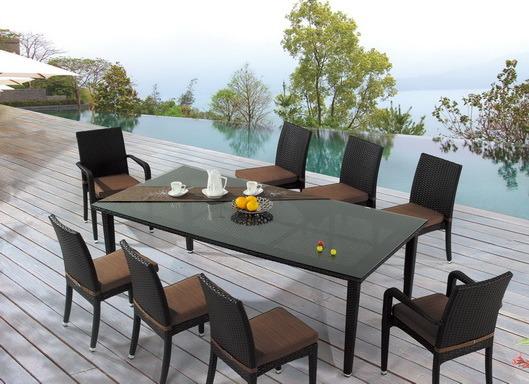 China Muebles de Exterior - silla y mesa de comedor (BP-306 ...