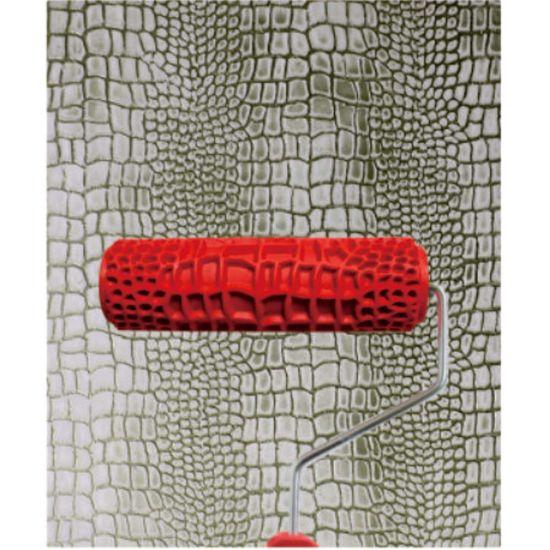 Nuevo Diseño De Arte Popular De La Pared De Textura Patrón De Rodillo De Pintura Decorativa