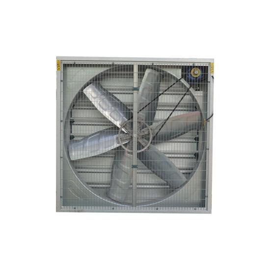 China Ventilação grande ventilador de exaustão de Fluxo