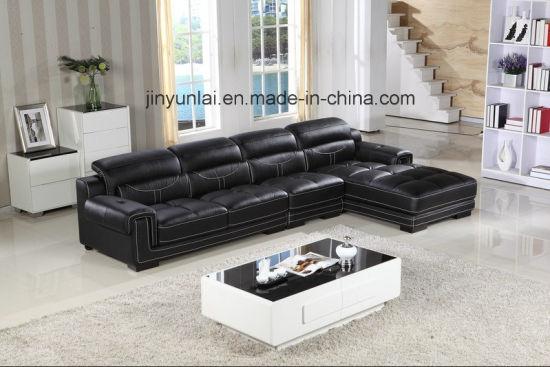 Nouveau Style Sectional Salon canapé en cuir italien moderne définit