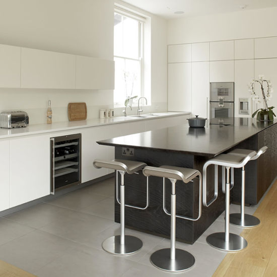 Casa de estilo moderno diseño de interiores Muebles de Cocina Italiana  gabinete