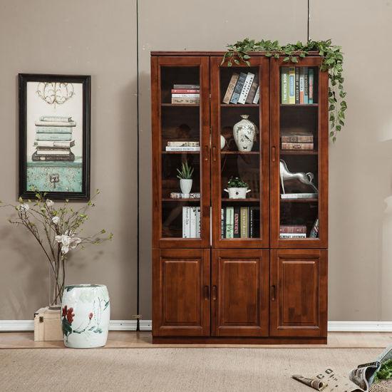 China dise o moderno s lida de madera del dormitorio de - Libreros de madera modernos ...