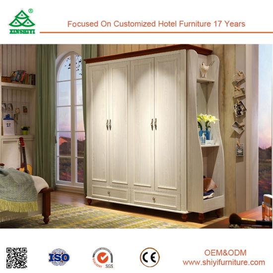 Vestirsi di legno di disegni del guardaroba di stile del bambino della  camera da letto moderna dei guardaroba monta il guardaroba dell\'armadio