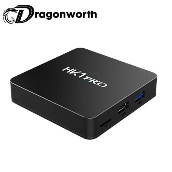 HK1 PRO S905X2 TV Box Android 8 1 Android gratis Descargar Google Play  Store TV Box Android TV Box con teclado inalámbrico 4K Descargar manual de