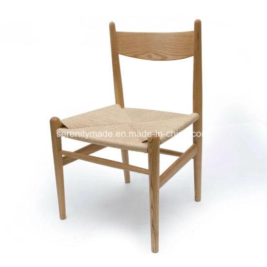 sillas de salón clásicas China Natural Clsica Silla De Comedor Madera Maciza Asiento