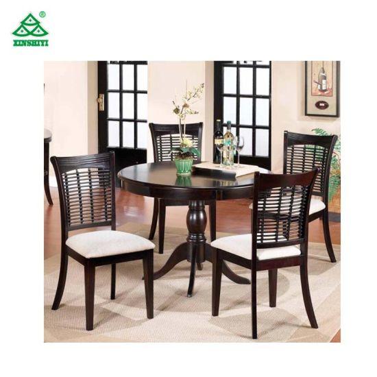 Muebles de madera alta calidad de la mesa de comedor y sillas en venta