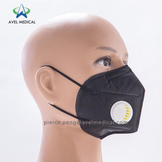 Facial Mascarilla Rostro Boca De Máscara Nonwoven Plegada Polvo N95 Filtro Papel Desechables Quirúrgica