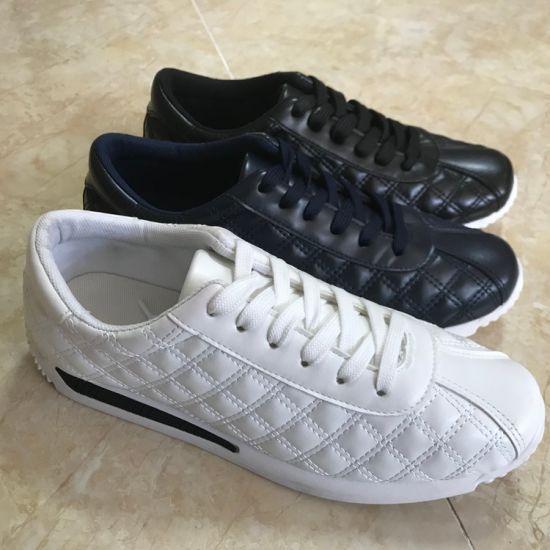 China Los hombres de último diseño de zapatillas de skate al