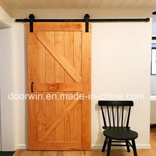 Sehr China Amerikanische Stall-Tür-Eichen-festes Holz-Schiebetür-Eichen IH65
