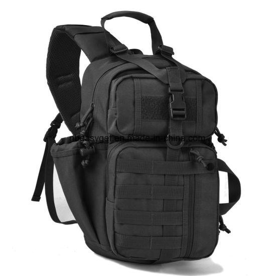 Petit militaire tactique sac épaule bandoulière Sac à dos Outdoor Sports Day Pack