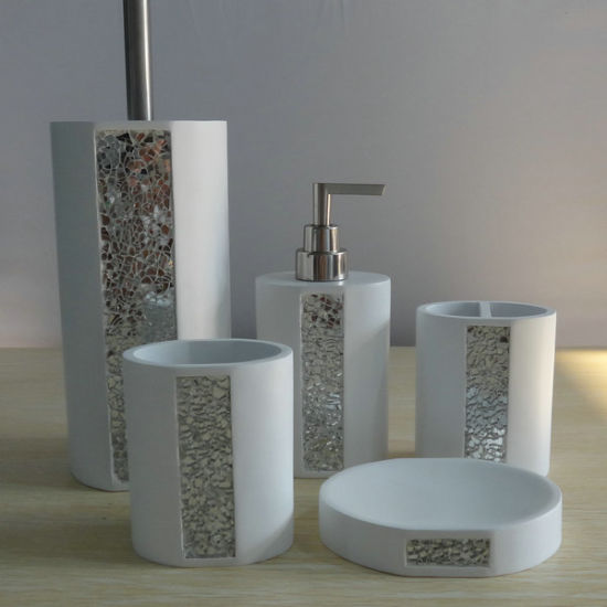 China Diseño moderno cuarto de baño de resina con juego de ...