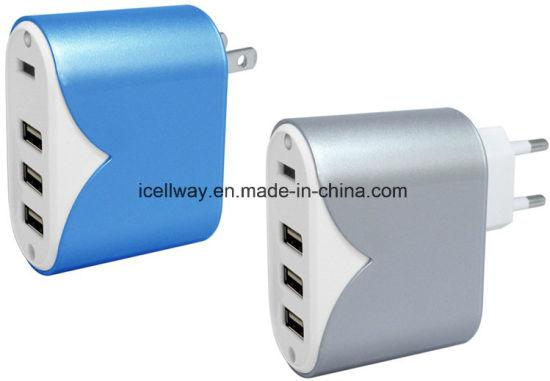 Adattatore all\'ingrosso della parete di corsa del USB del caricatore 3 del  telefono mobile