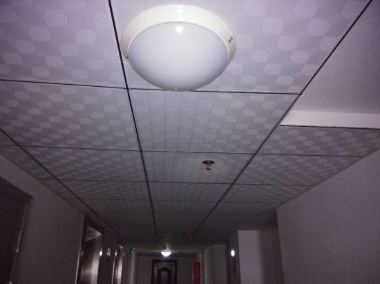 Ultra Chine PVC dalle de plafond Gyspum 603*603*7mm Modèle 238/996 beau AP-01