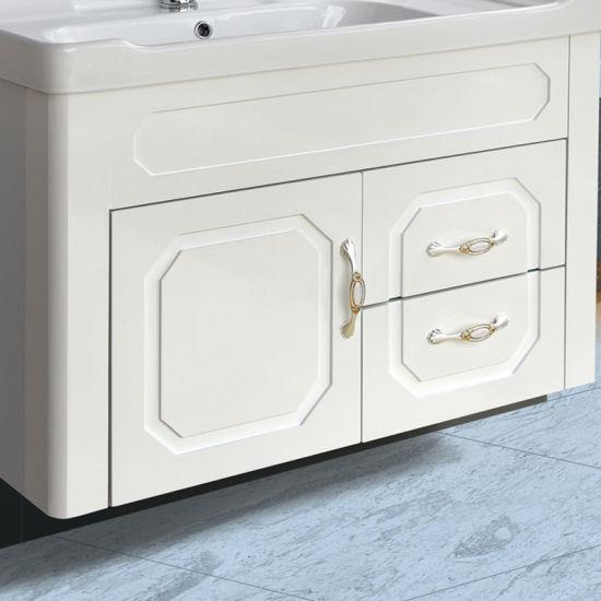 Le bain Céramique bassin Accessoires Ensemble 6 pièces blanc salle de bains conteneurs de stockage