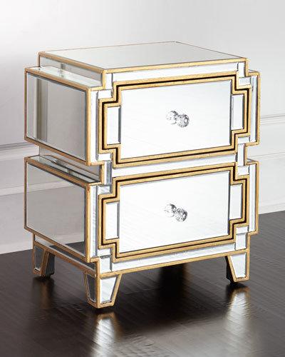 Tavolino da notte di lusso della mobilia della camera da letto dello  specchio dell\'ingresso di hobby