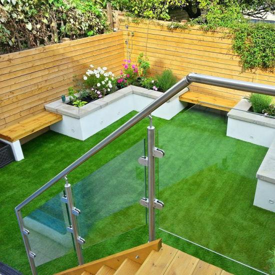 Chine Jardin moderne en verre trempé de balustrades avec l ...