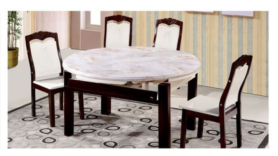 China Extensión de los conjuntos de Comedor Extensible mesa ...