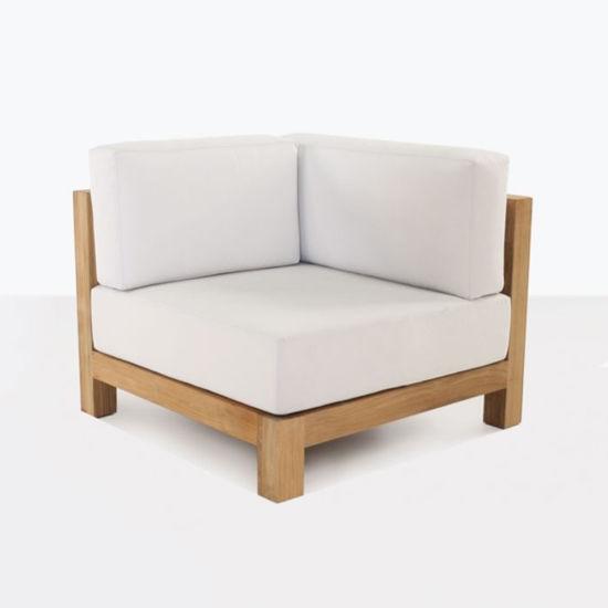 style moderne en bois de teck fauteuil