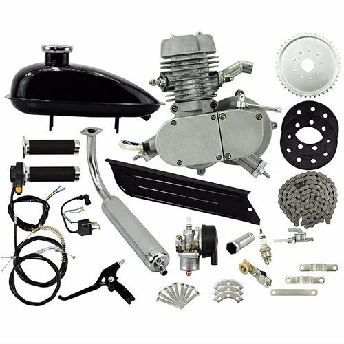Motor de gasolina para bicicleta kit de motor de gasolina de 2 tiempos 80 cc