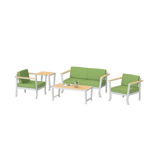 Chine Canapé-lit Jardin de haute qualité en aluminium Tables ...