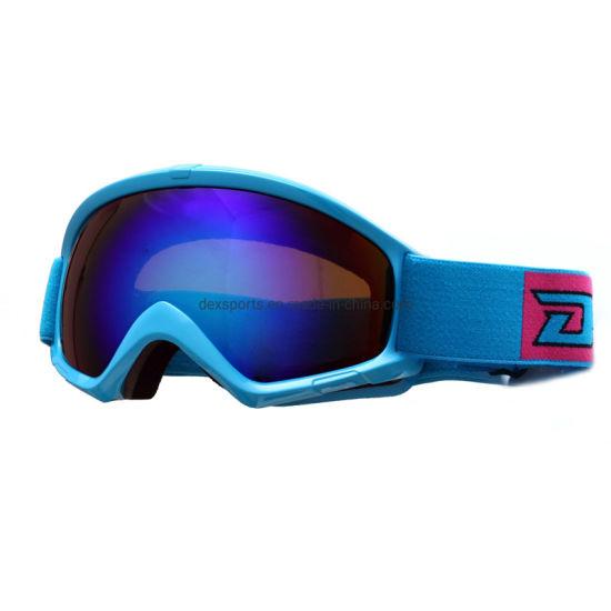 Cadre coloré Ault Sports Lunettes de ski Snowboard Lunettes de soleil en plein air