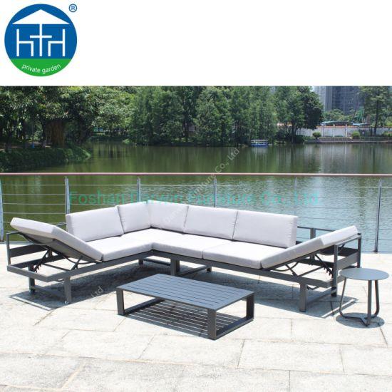 China Bastidor De Aluminio Muebles De Terraza Sofá Sofá De
