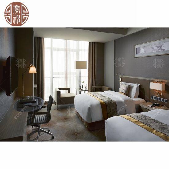 Chine Hôtel 5 étoiles de placage en bois Meubles de chambre ...