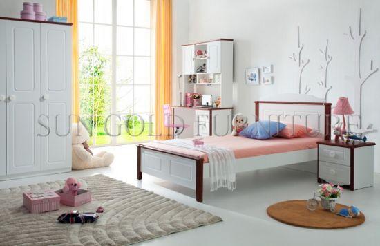 Chine Modèles en bois de lit de chêne blanc d\'enfant ...