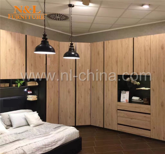 Chine N&L Armoire chambre à coucher modernes en bois Meubles ...