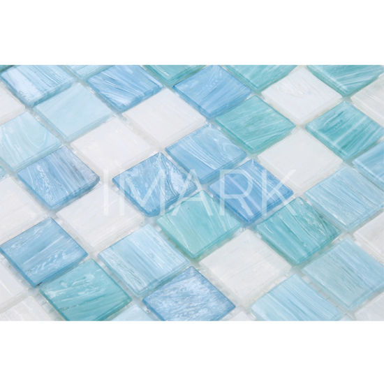 Chine Mix Couleur Carreaux De Mosaique De Verre Simple Modele De La Piscine Decoration De Cuisine Acheter Carreaux De Mosaique De Verre Sur Fr Made In China Com