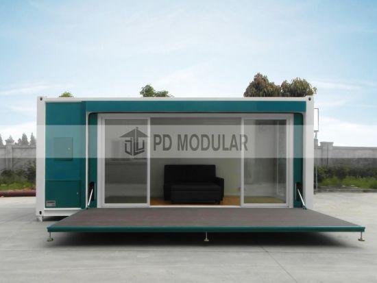 Chine Maison moderne préfabriqués conteneur mobile chambre ...