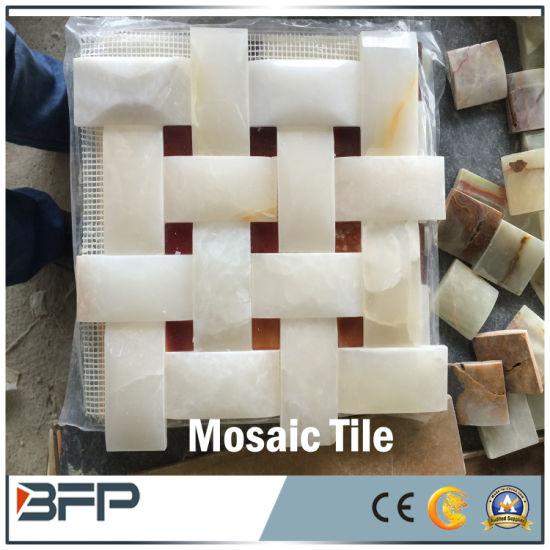 Cina Mosaico di marmo di pietra naturale di arte per le ...