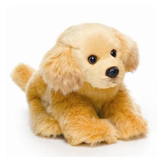 China Realista De Plush Golden Retriever Cachorro Realista Toy