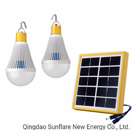 Lampes solaires de la lampe témoin lanterne avec USB pour la chambre et de plein air Lihgting