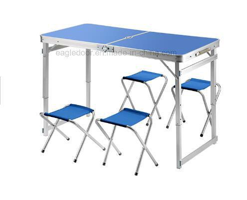 Chine L Aluminium De 4 Pieds De Table Pliante Portable Et