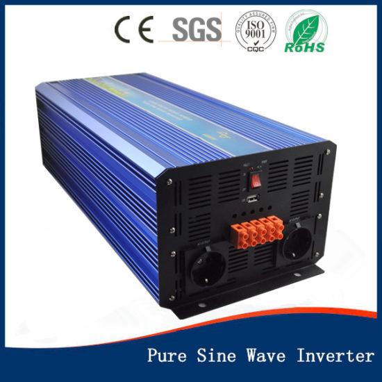 6000W De Potencia del Inversor Solar DC 24V A 220V AC Exhibici/ón De Led del Convertidor De Onda Sinusoidal