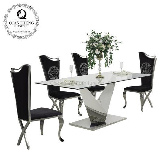 China Salón Muebles de Comedor mesa de comedor superior de ...