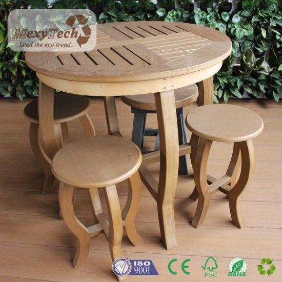 Chine La qualité WPC Table et chaises en bois de mobilier de ...