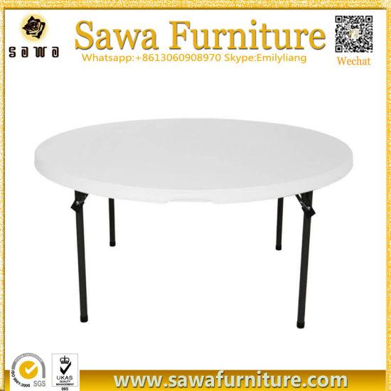 Chine La fabrication de tables pliantes en plastique de ...